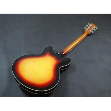 Custom Shop Tri Color Tone ES335 VOS Jazz Electric guitar