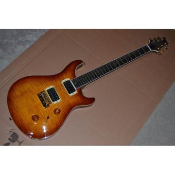 Custom Shop Tobacco Burst Bird Inlay PRS Electric Guitar