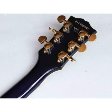 Custom Shop Tiger Maple Top Blue LP Electric Guitar