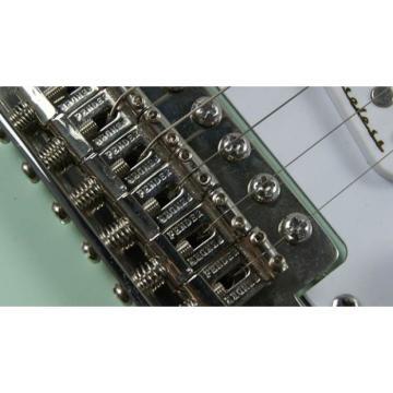 Custom Shop Teal Jeff Beck Fender Stratocaster Electric Guitar