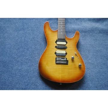 Custom Shop Suhr Sunburst Pro Series Electric Guitar