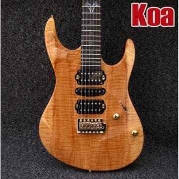 Custom Shop Suhr Koa 6 String Electric Guitar