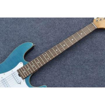 Custom Shop Suhr Flame Maple Top Ocean Blue Electric Guitar