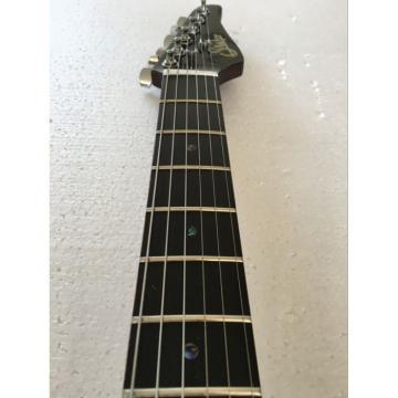 Custom Shop Suhr Black Gray Maple Top Electric Guitar
