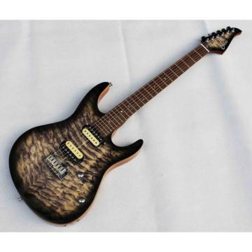 Custom Shop Suhr Flame Maple Top Black Brown Electric Guitar