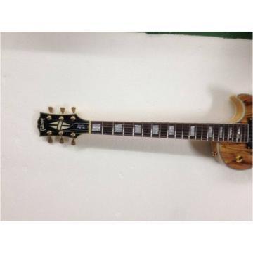Custom Shop Spalted Maple Standard Dead Wood LP Electric Guitar