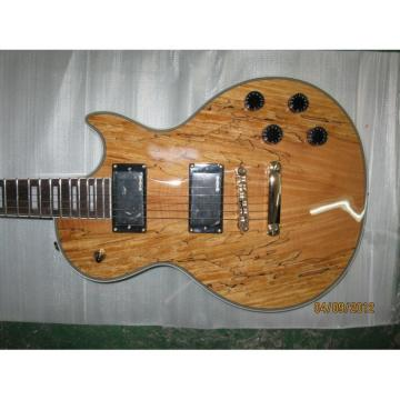 Custom Shop Spalted Maple Dead Wood LP Electric Guitar