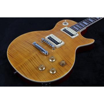 Custom Shop Slash 1959 Les Standard Reissue Tiger Flame Electric Guitar
