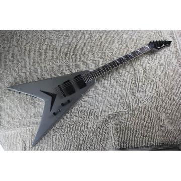 Custom Shop Silver Gray Flying V VMNT1 Dean Electric Guitar