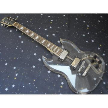 Custom Shop SGT Acrylic Plexiglass Transparent Electric Guitar