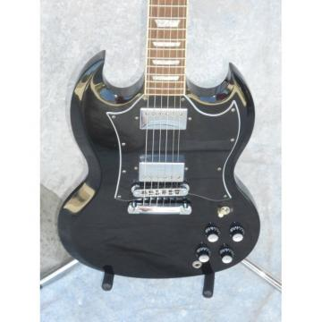 Custom Shop SG Black LP Electric Guitar
