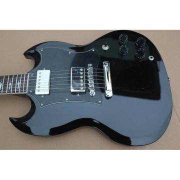 Custom Shop SG Black Electric Guitar