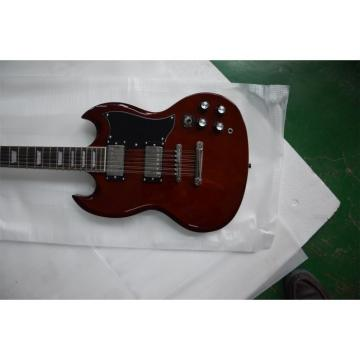 Custom Shop SG Angus 12 String Burgundy Red Electric Guitar
