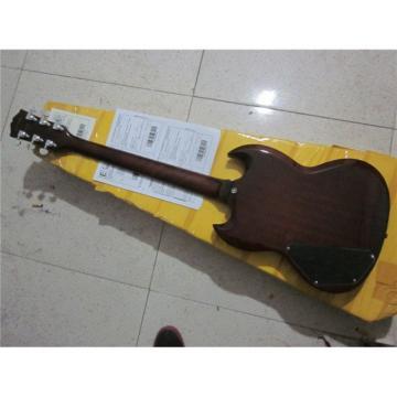 Custom Shop SG G400 Dark Brown Electric Guitar