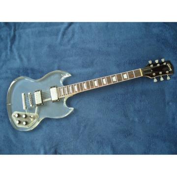 Custom Shop SG Acrylic Electric Guitar