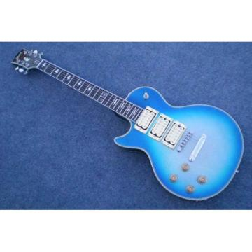 Custom Shop Robot Left Handed Ace Frehley Blue LP Electric Guitar