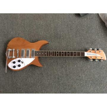 Custom Shop Rickenbacker Natural 380 Electric Guitar Wilkinson Parts