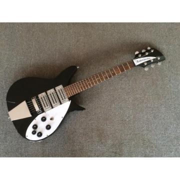 Custom Shop Rickenbacker 350 Jetglo Black Electric Guitar