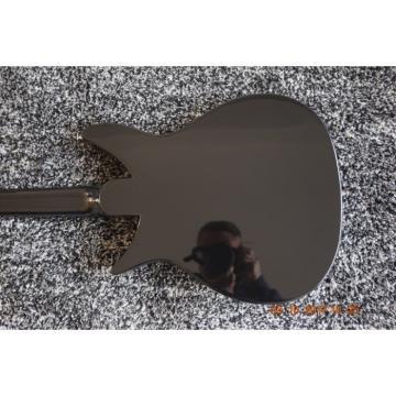 Custom Shop Rickenbacker 325 Black Electric Guitar Bigsby