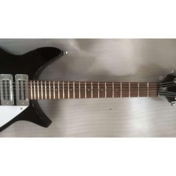 Custom Shop Rickenbacker 325C64 Jetglo Black 6 String Electric Guitar
