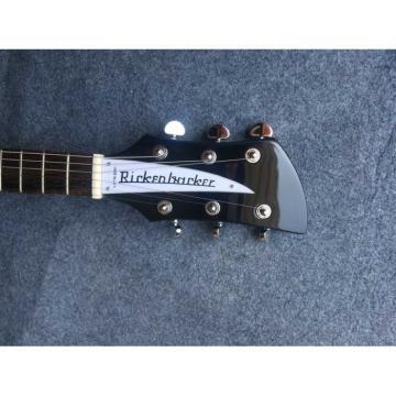 Custom Shop Rickenbacker 325 Black Electric Guitar