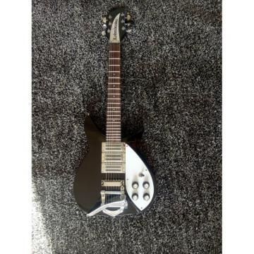 Custom Shop Rickenbacker 325 Black 6 String Electric Guitar