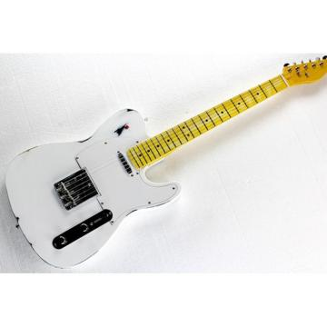 Custom Shop Relic White Vintage Old Aged Telecaster Electric Guitar