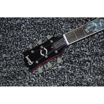 Custom Shop Red Abalone Snakepit Slash Inlay Fretboard Electric Guitar
