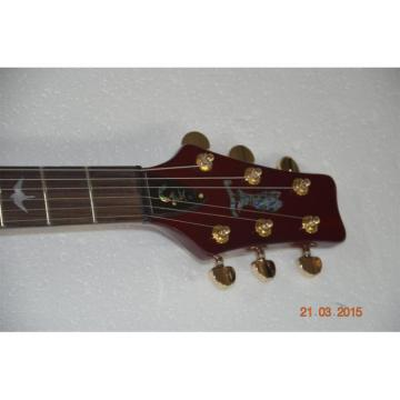 Custom Shop PRS Santana Brazilian Tiger Maple Top Electric Guitar