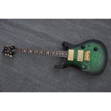 Custom Shop PRS Electric Guitar Green Black Burst