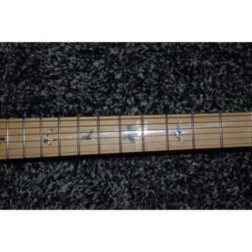 Custom Shop PRS Flame Maple Blue Maple Fretboard Electric Guitar
