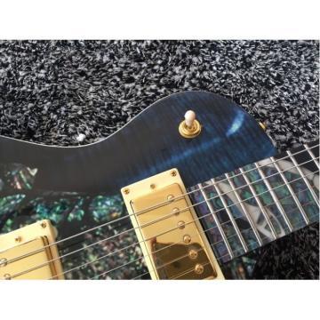 Custom Shop PRS Dragon 22 Frets Whale Blue Electric Guitar Wilkinson