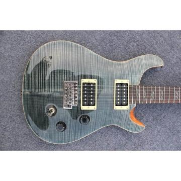 Custom Shop PRS Gray Flame Maple Top Electric Guitar