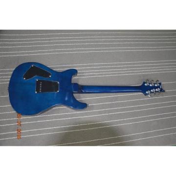 Custom Shop PRS Blue Flame Maple Top 24 Frets Electric Guitar