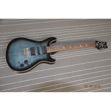 Custom Shop PRS Black Burst Blue Top 22 Frets Electric Guitar
