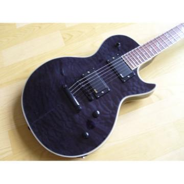 Custom Shop Prophecy Quilted Dark Purple Maple Electric Guitar