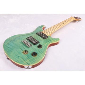 Custom Shop PRS 7 String Green Flame Maple Top Electric Guitar