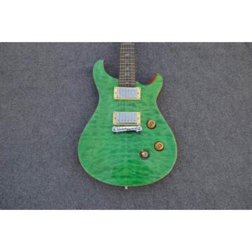 Custom Shop PRS 24 Quilted Maple Top Emerald Green Electric Guitar