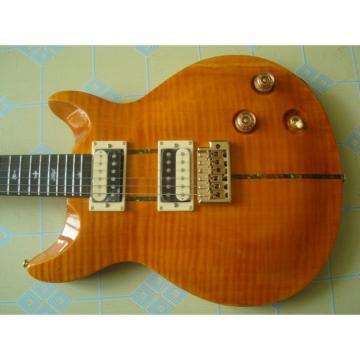 Custom Shop Paul Reed Smith Golden Electric Guitar