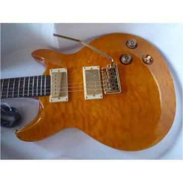 Custom Shop Paul Reed Smith Gold Electric Guitar
