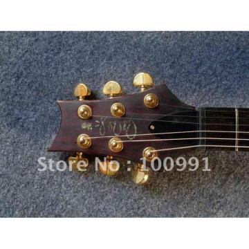 Custom Shop Paul Reed Smith Dark Red Electric Guitar