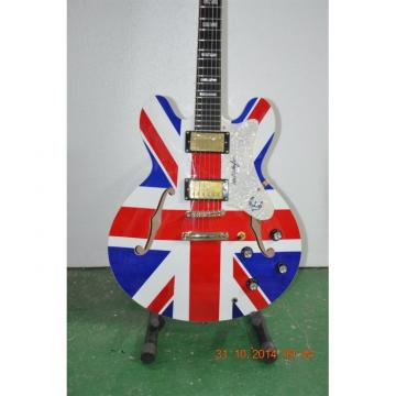 Custom Shop Noel Gallagher British Flag Electric Guitar