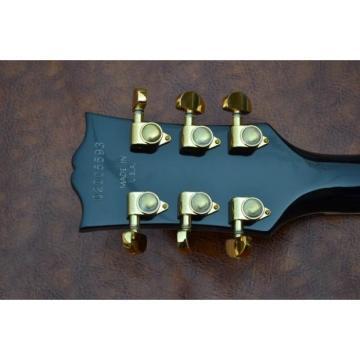 Custom Shop Natural Wood Finish LP Electric Guitar