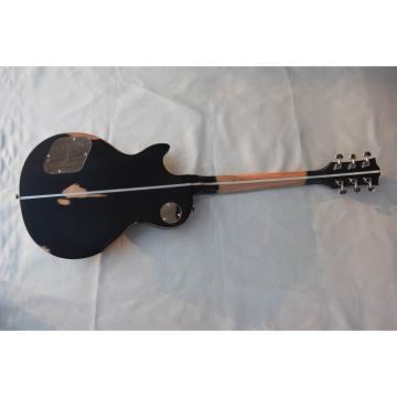 Custom Shop Matte Black Relic Electric Guitar Bigsby Tremolo