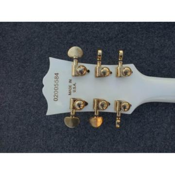 Custom Shop LP White Floyd Vibrato Electric Guitar