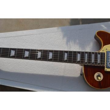 Custom Shop LP Tiger Maple Top Iced Tea Electric Guitar
