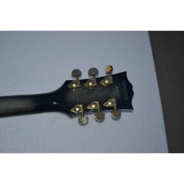 Custom Shop LP Tiger Maple Top Gray Black Electric Guitar