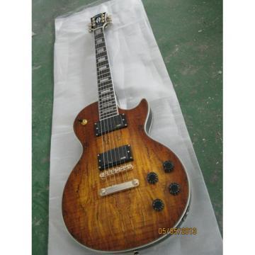 Custom Shop LP Spalted Maple American Dead Wood Electric Guitar