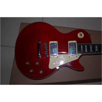 Custom Shop LP Slash Flame Maple Top Red Electric Guitar