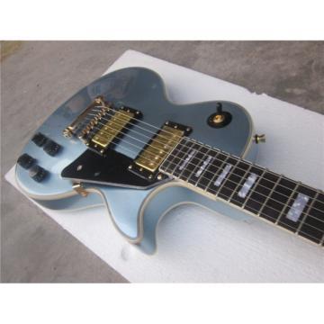 Custom Shop LP Pelham Blue Standard 6 String Electric Guitar